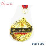 Médaillon fait sur commande courant olympique en gros d'or
