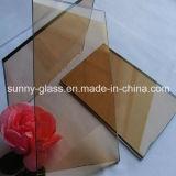 Ventana teñida de vidrio, Fgreen, azul marino, gris euro, bronce