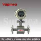 Compteurs de débit électromagnétiques de Supmea avec l'Afficheur LED utilisé pour l'eau de traitement d'eaux d'égout