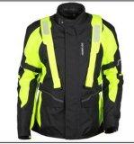 SGS BV (MB14-J03)が付いているメンズOfxord Polyesterfのオートバイの衣類のジャケット