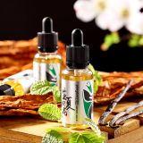 夏の花またはミントおよびタバコの味の電子タバコ液体Eの液体として生存