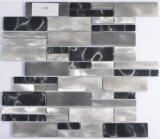 Azulejo de mosaico de aluminio irregular para Deocration