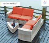 Mobília de vime do Rattan da mobília da boa mobília ao ar livre quente do jardim do repouso da tabela da cadeira da mobília do Rattan do sofá do pátio de Icker da venda de Quility