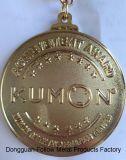 Medaglia del premio al successo per per la matematica di Kumon ed il centro della lettura