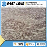 Bancadas artificiais da pedra de quartzo de Calacatta/lajes de pedra de quartzo