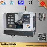 Metal do CNC Fanuc de Ck40L que faz à máquina o torno horizontal do CNC da precisão