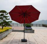 テラスの傘の庭の傘パラソルLEDの傘の太陽傘