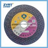 Abschleifendes Platten-Ausschnitt-Maschinen-Ausschnitt-Rad für Metall