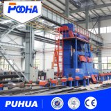 Qgw Steel Pipe Shot Blasting Cleaning Machine