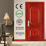 前部木製のドア