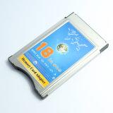18 em um leitor de cartão da Senhora PRO Xd do MMC SD SDHC no adaptador do cartão de memória de PCMCIA
