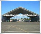 Ангар Айркрафт стального луча гибкой конструкции Prefab структурно построенный сталью