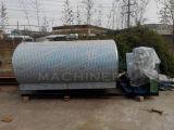 Tanque de refrigeração soldado do leite do aço inoxidável usado na indústria de leiteria