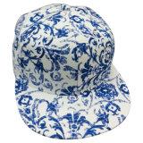 Gorra de béisbol floral de la tela con el Snapback Sb1595