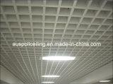 Plafond décoratif de réseau d'utilisation d'intérieur en aluminium
