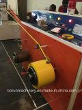 Protuberancia plástica Pet/PP usado máquina de la correa del embalaje de la salida doble de alta velocidad que ata con correa la cadena de producción de la venda