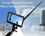 "5MP 1080P HD Kamin-Inspektion-Digitalkamera mit 7 "" HD Digital DVR Schreiber (HDMI Ausgabe, Speicher 64GB, Batterie 5000mAh, 5m adjustabl Pol)"