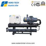 シングルBizterスクリュー圧縮機とタイプグリコール水チラー水冷