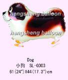 Воздушный шар фольги гуляя