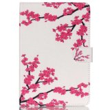 복숭아 꽃송이 꽃 패턴 iPad Mini4 케이스