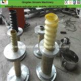 Macchina ottica porosa dell'espulsore di fabbricazione del tubo del carbonio di spirale del gruppo di terminali del PE