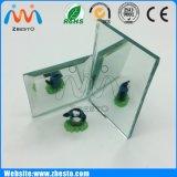 Espejo de cristal decorativo impermeable de plata claro alto grande cortado aduana