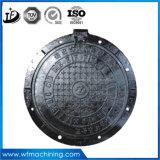 던지는 연성이 있는 철 D400/Drainage/Spetic 탱크 또는 경첩을 달 방수 또는 거슬리는 소리 맨홀 뚜껑