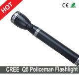 Linterna del CREE XPE LED de los modos de la linterna 3 de la policía de alboroto para la policía de alboroto