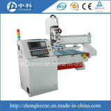 Linear Type Changing Cutters Auto CNC Router