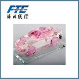 Frasco de perfume de vidro do pendente do carro da forma do carro