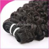 100% tessiture di trama non trattata dei capelli dei capelli ricci del Virgin di Mlalaysian