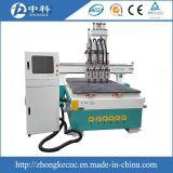 ATC 4 Kopf-pneumatischer 3D CNC-Fräser 1325
