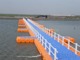 Calzada plástica el pontón del dique flotante