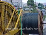 Cable al aire libre de la fibra de la cinta del tubo flojo de aluminio de la capa