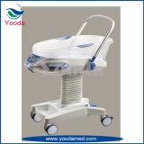Кроватка младенца стационара медицинская с функцией нот