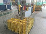 7:1 jaune de facteur de sûreté de bride de sangle de polyester de 3tx1m