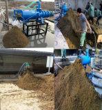 牛肥料の放出機械家禽の肥料の排水の肥料の沈積物の脱水機