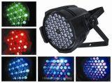 54*3W RGBW LEDの同価の段階ライト