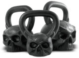 OEM Cast Iron Skull Shaped Kettlebell de la Chine Factory avec Face