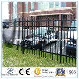 防御フェンスの卸売の安い鉄条網か錬鉄の塀