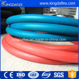 La alta presión riega el manguito flexible de la soldadura del oxígeno de los tubos