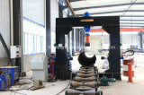 Completare l'apparecchio per saldare della saldatrice d'acciaio dei Pali della torretta