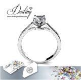 Het Kristal van de Juwelen van het lot van de Ring van de Charme Swarovski