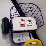 Le modèle neuf de vente chaude badine le tricycle de bébé de jumeau en métal de tricycle avec la portée deux