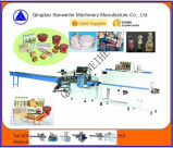 Swf-590 Pudding et Jelly Cup Automatic Shrink Wrapping Machine