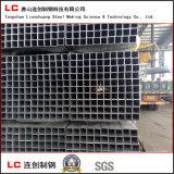 Tubo de acero cuadrado galvanizado caliente