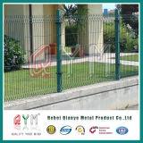 Geschweißtes Maschendraht-Fechten/3D gefalteter Maschendraht-Zaun/Stahl geschweißter Maschendraht-Zaun