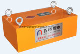 Séparateur permanent de Magneic de fer de balancement latéral de suspension d'Overband de nettoyage manuel de Rcyb de qualité pour le convoyeur à bande
