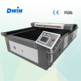 Niedriger Preis CO2 Laser-Leder-und Tuch-Ausschnitt-Maschine mit Dw1318