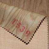 Самая новая деревянная зерна кожа PU Semi для драпирования, сумок, крышки тетради